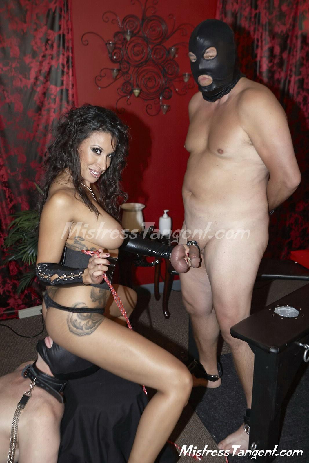 Bursting Bisex with Mistress Tangent