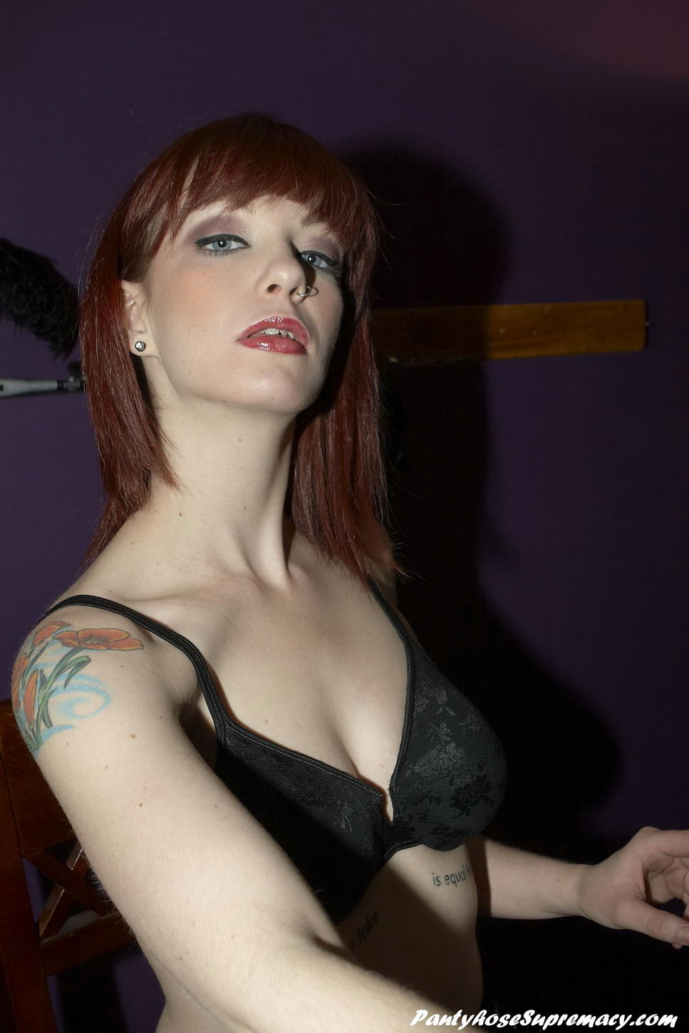 Her Gift of Bearing to You with Dominatrix Sidney