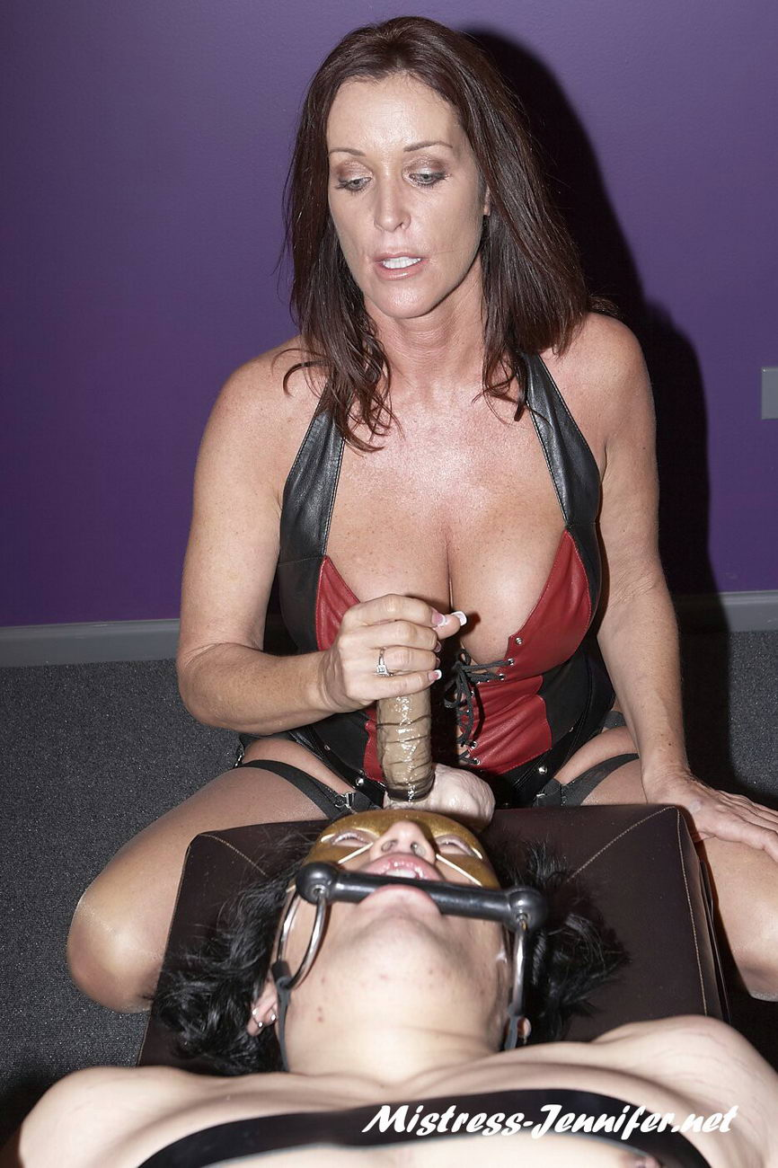 Rachel Steele with Domina Karma