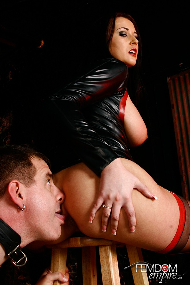 Addicted Bum Muncher with Alexis Mercy