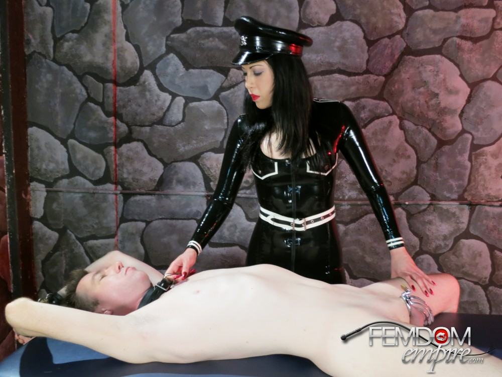Japanese Dominatrix Innocence taunt